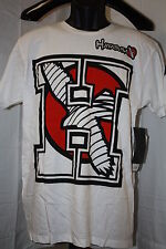HAYABUSA - TEAM H   T SHIRT NEW WHITE  UFC MMA
