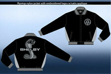 Shelby Cobra Jacket Light Weight Ripstop Nylon Zip Jacket Adult