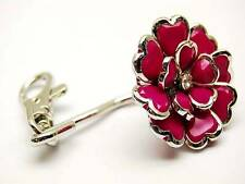Flower and Center  Rhinestone Key Finder