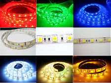 5050 SMD LED 3chips Cuttable DC 12V Waterproof STRIP Ribbon Flexible light Under