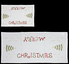 'MERRY CHRISTMAS' PLACEMAT OR TABLE RUNNER