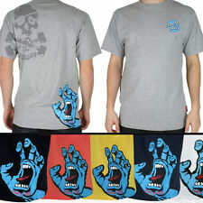 SANTA CRUZ Screaming Hand Skateboard Tee Shirt - Side print - Classic Skate Logo