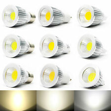 MR16/GU10/E27 ultra brillante del CREE LED de Dimmable COB luz bombilla 6W 9W 12