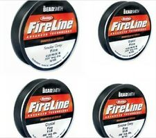 Beadsmith Fireline Two color  crystal OR smoke 6LB OR 8LB