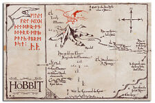 The Hobbit Mountain Map Large 36 x 24 Inch Poster New - Laminated Available