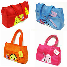 Winnie the Pooh Eeyore Tigger Piglet Plush Shoulder Bag Shopping Tote #SP