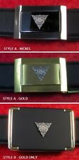 """PACKARD """"ASK THE MAN WHO OWNS ONE"""" - CUSTOM BELT BUCKLE"""