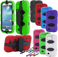 New Survivor Shockproof Military Duty Case Cover For Samsung Galaxy S4 Belt Clip