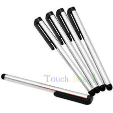 "5x Silver CAPACITIVE Screen Touch Stylus for PC Tablet TAB Ebook Reader 7"" 7in"