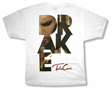 """DRAKE """"SMOKE LETTERS"""" TAKE CARE WHITE T SHIRT RAPPER NEW OFFICIAL ADULT"""