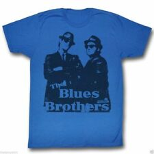 T-Shirts Sizes S-2XL Authentic Mens The Blues Brothers Big Blue Mens Tee Shirt