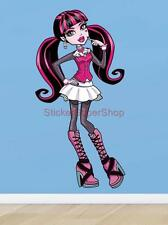 MONSTER HIGH DRACULAURA Decal Removable WALL STICKER Decor Art FREE SHIPPING