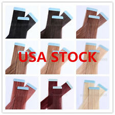 USA STOCK!20 inch Remy Tape Hair Extension,50g & 20 pieces,3-5 days delivery!