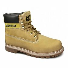 Caterpillar COLORADO Womens Ladies Nubuck Leather Lace-Up Work Boots Honey Reset