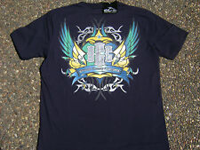 OCC OFFICIAL Orange County Choppers Tattoo Navy Blue T-Shirts Small