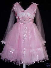 New Girls Wedding Party Flower Girl Fairy Pagent Dress