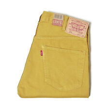 LEVI'S VINTAGE CLOTHING AW13 519 BEDFORD CORD PANTS HARVEST GOLD RRP £150