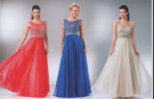 3 COLOR COCKTAIL PROM BRIDESMAIDS GALA HOMECOMING FORMAL  DRESS BALL GOWN 4-18