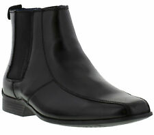 Hush Puppies Moderna Chelsea Mens Boots Leather Pull-on Shoes Sizes UK 7 - 12