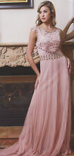 D-ROSE Mother  Of Bride/Groom LONG DRESS HOMECOMING EVENING FORMAL PROM XS-2XL