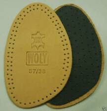 New Woly Leather Ex Peep Toe 1/2 Insole Shoes Boots