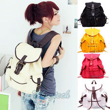 NEW Cute Womens Bag Vintage Canvas Satchel Girls' Backpack Shoulder School Bag