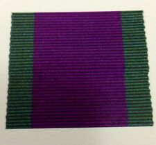 GSM Full Size Medal Ribbon, Army, RAF, Navy, Military, General Service, Ireland