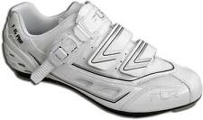 FLR  F-15 Pro Carbon Road Shoes. White/Silver