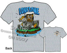 Ed Roth Rat Fink T Shirt Lonesome Big Daddy Shirts Hot Rod Clothes Model T Tee