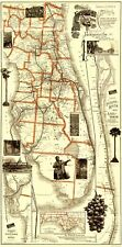 FLORIDA RAILROADS (FL) BY MATTHEWS NORTHRUP CO 1894