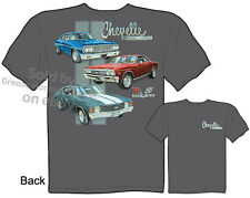 Chevy Shirt Chevelle Shirts Chevrolet Clothing Muscle Car Apparel 1964 1967 1971