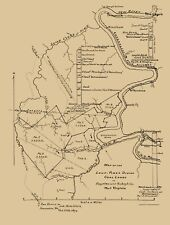 LOUP-PINEY DIVIDE COAL LANDS WEST VIRGINIA (WV) BY HOTCHKISS 1879