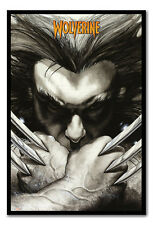 Framed Marvel Extreme Wolverine Claws Poster Ready To Hang New