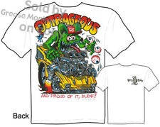 Ratfink T Shirts Chevy Shirt Hot Rod Clothes Classic Car Shirt Outrageous 1957