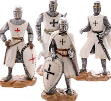 Crusader Knight 11.5cm High Chose From 4