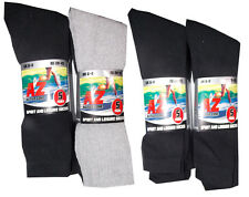 5 pairs Mens Cotton Rich Sport Socks work  men size 6-11