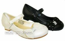 Pretty Rhinestone Tulle Bow*Pageant Girl Low Heel Mary Jane Ballet Flat