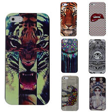 CHEAP Cool Pattern Hard Snap Skin Case Cover Protector For Apple iPhone 5/5S HOT