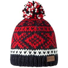Barts Log Cabin Beanie KIDS navy blue hand knitted for Children UVP19,90€ SALE