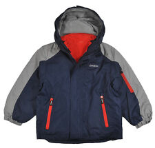 Osh Kosh Toddler Boys Navy & Gray 4 In 1 Outerwear Jacket Size 2T 3T $65