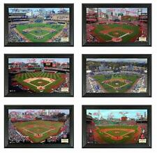"Choose Your MLB Baseball Team 2014 Framed 12 x 20"" Signature Field Stadium Photo"