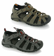 MENS SPORTS PDQ TRAIL WALKING CLOSED TOE SANDALS 7-12