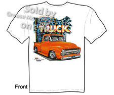 Ford Shirts Hot Rod T Shirts Truck Tee Shirts Classic Car Shirt 1956 Pickup F100