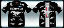 PIT SHIRT: Ford Mustang Multi-Logo Shirt - Last ones! Small FREE SHIP!