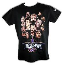 Wrestlemania 30 WWE Group T-shirt Undertaker Daniel Bryan John Cena