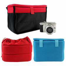 SLR /DSLR Camera Insert Partition Inner Padded Insert Cover protective Case Bags