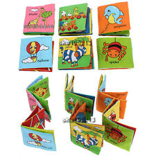 Soft Cloth Baby Kid Children Intelligence Development Learn Picture Cognize Book