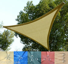 10ft Triangle Sun Shade Sail Patio Canopy UV Protection Yard Pool 5 Colors