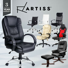 Prime PU PVC Leather Office Chair Home Computer Desk Executive Racer Lounge