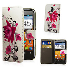 WALLET FLIP PU LEATHER CASE COVER For ZTE Blade 3  FREE SCREEN PROTECTOR
